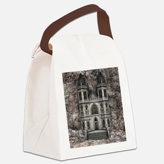 Castle Canvas Lunch Bag