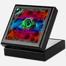 Scary Surrealistic Eyeballs Keepsake Box