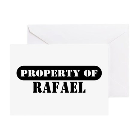 Property of Rafael Greeting Cards (Pk of 10)