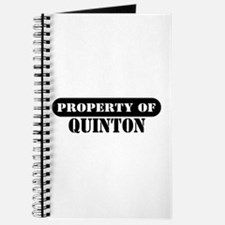 Property of Quinton Journal