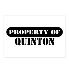 Property of Quinton Postcards (Package of 8)