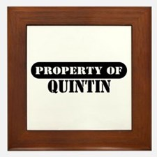 Property of Quintin Framed Tile
