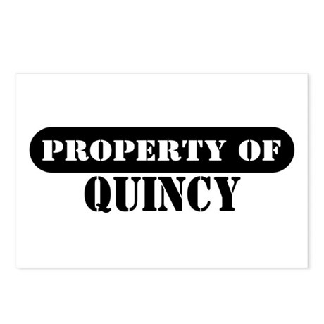Property of Quincy Postcards (Package of 8)