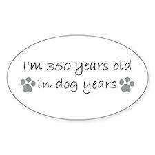 50 dog years 2-2.JPG Decal
