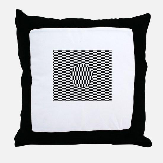 """""""Illusion#1"""" Throw Pillow"""