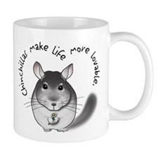 Chinchillas make life more lo Mug