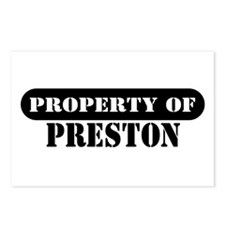 Property of Preston Postcards (Package of 8)