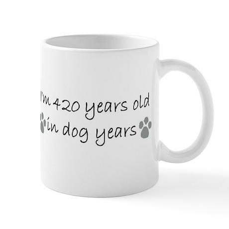 60 dog years 2-2.JPG Mugs