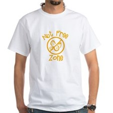Nut-Free Adult White Tee