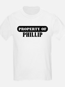 Property of Phillip Kids T-Shirt