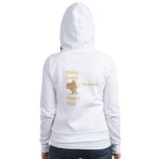 Wednesday Camel Fitted Hoodie