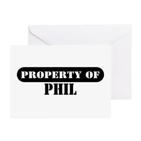 Property of Phil Greeting Cards (Pk of 10)