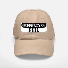 Property of Phil Baseball Baseball Cap