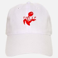 Red Tulip Baseball Baseball Cap