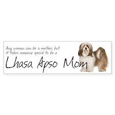Lhasa Apso Mom Bumper Bumper Sticker