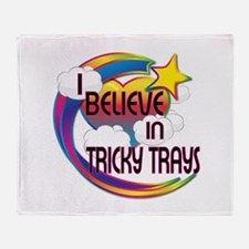 I Believe In Tricky Trays Cute Believer Design Thr