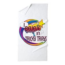 I Believe In Tricky Trays Cute Believer Design Bea
