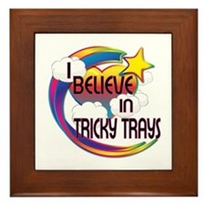 I Believe In Tricky Trays Cute Believer Design Fra