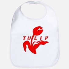 Red Tulip Bib