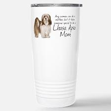 Lhasa Apso Mom Travel Mug
