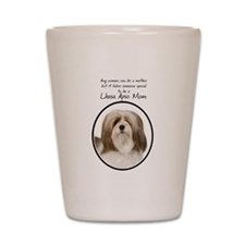 Lhasa Apso Mom Shot Glass