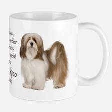 Lhasa Apso Mom Mugs