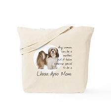 Lhasa Apso Mom Tote Bag