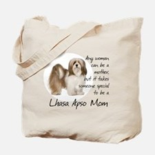 Lhasa Apso Mom Tote Bag
