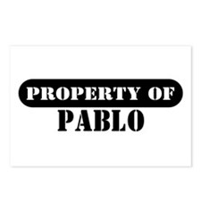 Property of Pablo Postcards (Package of 8)