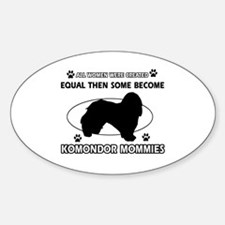 KOMONDOR mommy designs Decal