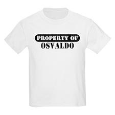 Property of Osvaldo Kids T-Shirt