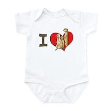I heart meerkats Onesie