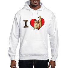 I heart meerkats Jumper Hoody