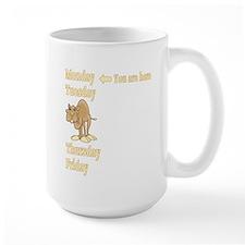 Monday Camel Mug