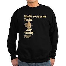 Monday Camel Sweatshirt