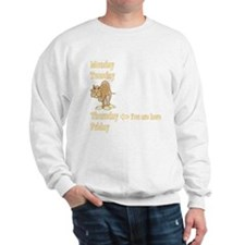 Thursday Camel Sweatshirt