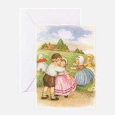 Vintage Nursery Rhyme Greeting Card