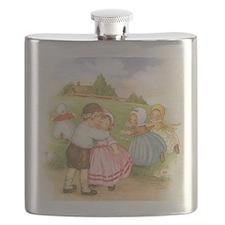 Vintage Nursery Rhyme Flask
