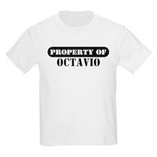 Property of Octavio Kids T-Shirt