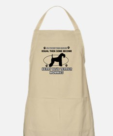 KERRY BLUE TERRIER mommy designs Apron