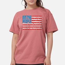 Cute Patriotic Womens Comfort Colors Shirt