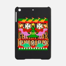 Ugly Christmas Sweater Dinosaurs iPad Mini Case