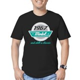 1967 vintage Fitted T-shirts (Dark)
