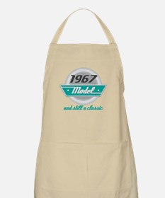 1967 Birthday Vintage Chrome Apron