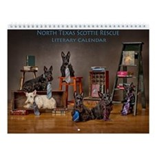 North Texas Scottie Rescue Literary Wall Calendar