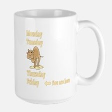 Friday Camel Large Mug