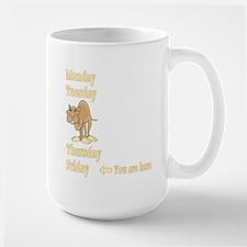 Friday Camel Mug