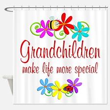 Special Grandchildren Shower Curtain