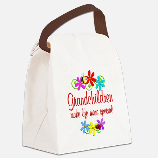 Special Grandchildren Canvas Lunch Bag