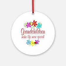 Special Grandchildren Ornament (Round)